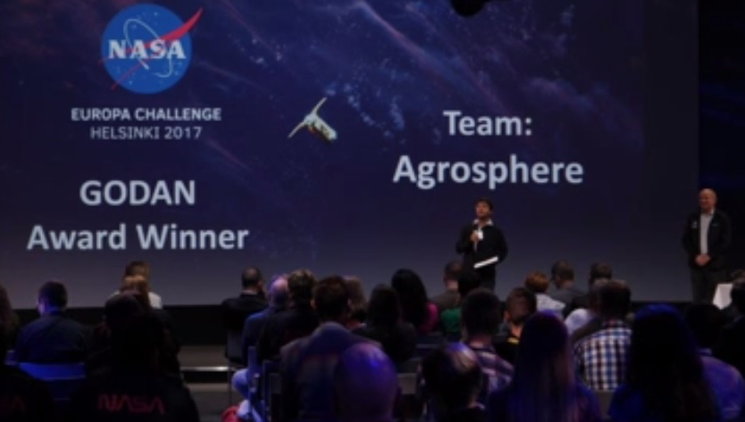 Team of high school and undergraduate NASA interns win the GODAN Local Farming challenge Award ...